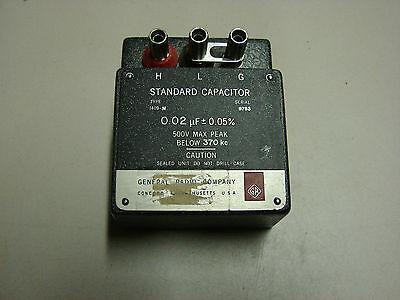 General Radio 1409-m Standard Capacitor