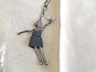 "Servanne Gaxotte Necklace Paris Girl Doll 32"" Chain"
