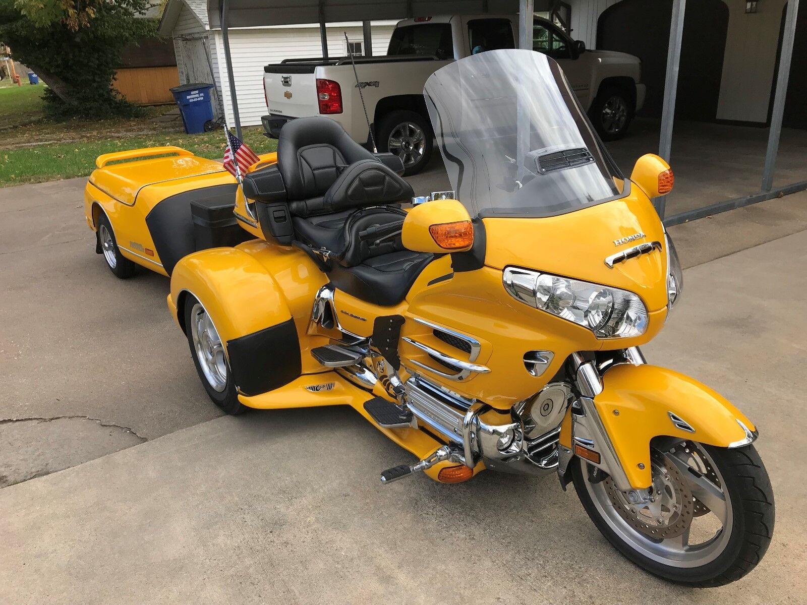 2010 Honda Gold Wing  2010 Honda 1800 Goldwing Trike, Champion Trike conversion