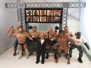 WWF WCW wrestling action figure toys vintage 1980s 90s