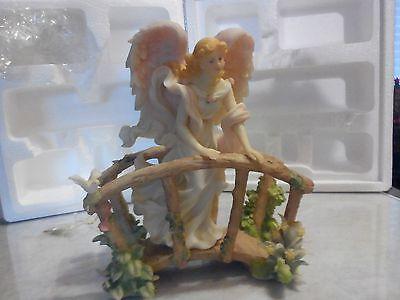 SERAPHIM ANGELS - CAROLINE- GARDEN SONG #81501 7.5 in