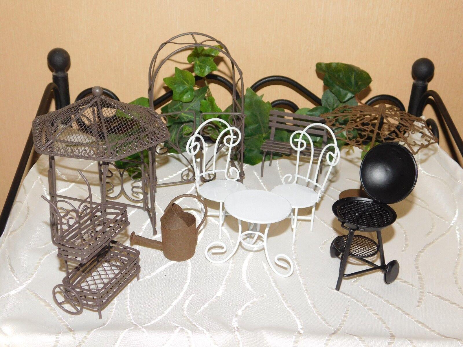 Miniatur Garten Möbel Test Vergleich Miniatur Garten Möbel