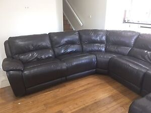 Genuine Leather Lounge South Windsor Hawkesbury Area Preview
