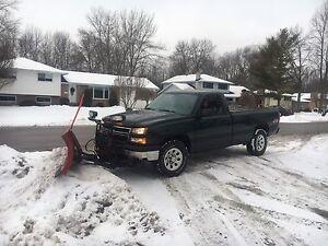 Chevy 1500LS Plow Truck