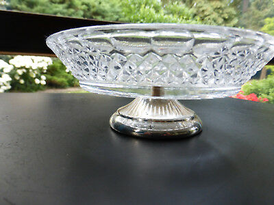 Vintage :alte Seifenschale- Glasschälchen mit Fuß