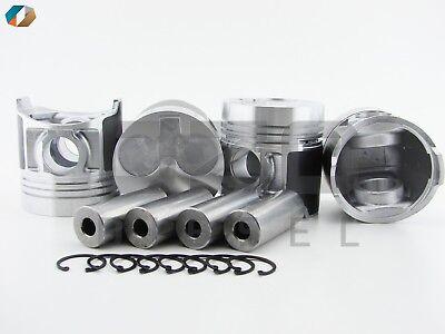 Piston Std Fits Perkins 404c-22t 115017581-oz Shibaura N844l Set Of 4