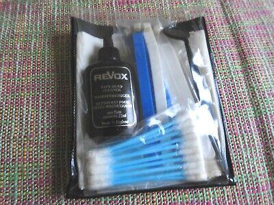 Original STUDER Revox Tapemachine Cassette Tapehead Cleaning Kit Set (no11)