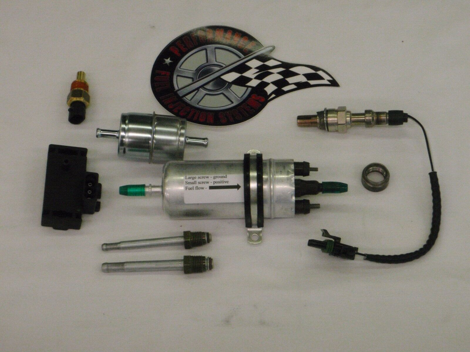 EFI Complete TBI Fuel Injection Conversion -For Stock Small Block Chevy 350  5 7L