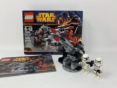 Lego 75034. Star Wars. Death Star Troopers.Box & Instr. Figures Not From Set