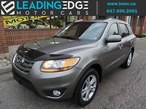 2011 Hyundai Santa Fe Limited 3.5 Navigation, Leather