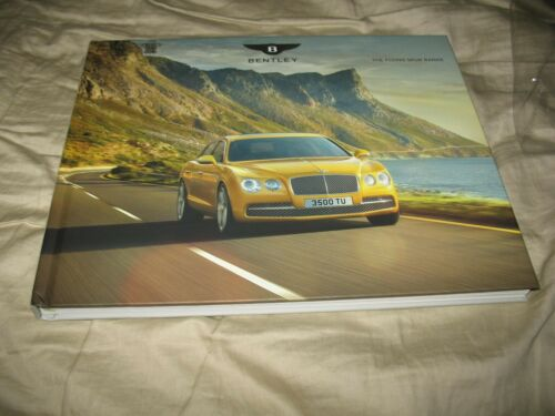 Bentley The Flying Spur Range hardcover brochure catalog 2016. 114 pages