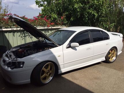 2007 Ford Bf xr6 turbo ZF auto heaps of new performance mods $$ spent