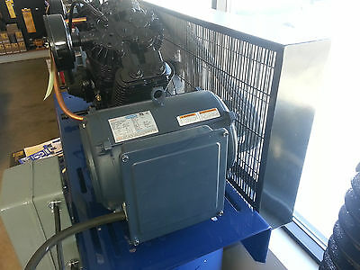 7.5hp 1740 Rpm 215t Single Phase Leeson Compressor Motor 140155