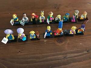 Simpsons Lego Minifigures Series 2 - Complete Set Beechboro Swan Area Preview