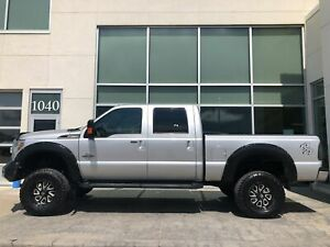 2016 Ford F-350 Lariat Iron Cross Bumper Lift AND Rims