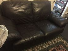 2 seater leather lounge Paddington Brisbane North West Preview