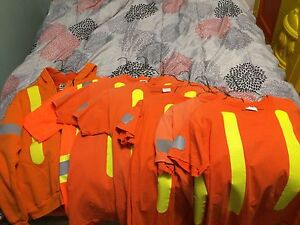 Hi vis work shirts and hoodie for sale