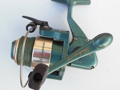 Shakespeare Alpha 25B Spinning Fishing Reel Filled with Stren Line