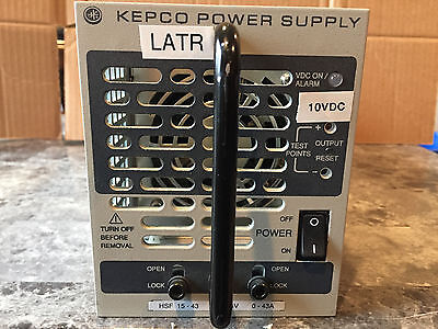 Kepco Hsf 15-43 Dc Power Supply