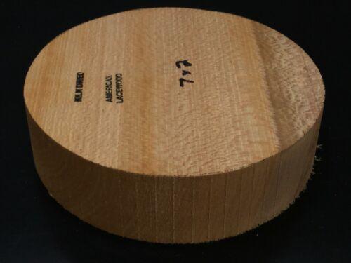 7x2 Kiln Dried American Lacewood Wood Turning Lathe Bowl Blank Block (BULK)