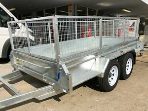 Best Quality - Galvanised Tandem Box Trailers for Sale 10x6 10x5 8x5 North Ipswich Ipswich City Preview