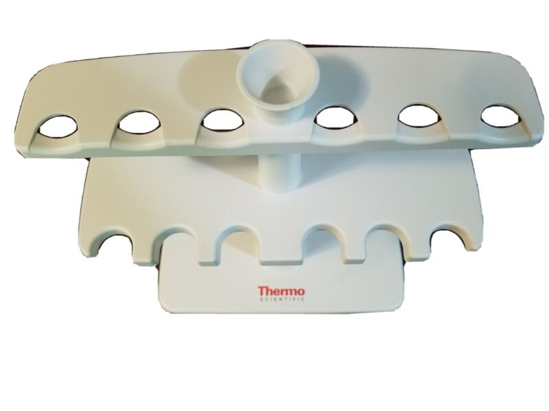 Thermo Scientific 6 Cliptip Clip Tip Pipette Pipettor Pipet Holder Stand used