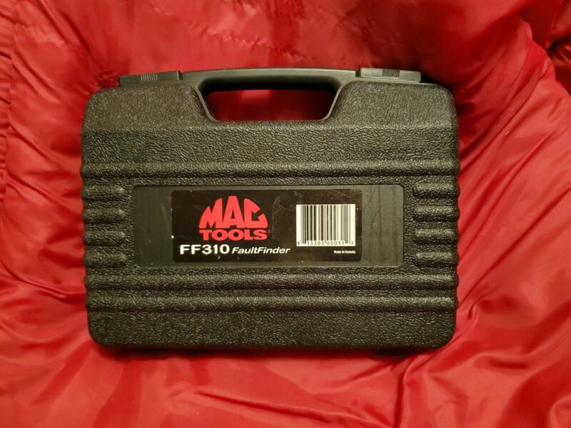 MAC TOOLS FF310 FAULT FINDER KIT. SHORT OPEN CIRCUIT FAULTS TRACER TEST LEADS FF