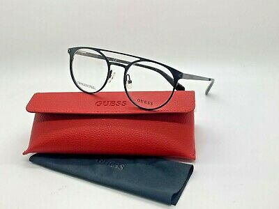 Guess frame  GU1956 002 MATTE BLACK Eyeglasses 50-19-140MM STAINLESS (Guess Prescription Glasses)
