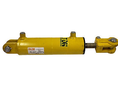 Hydraulic Welded Clevis Double Acting Cylinder 3 Bore X 8 Stroke 3000 Psi