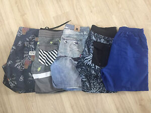 Men's Lot 4 boardshorts boardies size 32 RUSTY INSIGHT Oakhurst Blacktown Area Preview