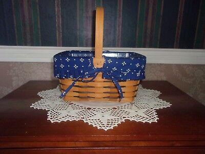 Longaberger 1997 Heartland Spring Basket Set - Classic Blue