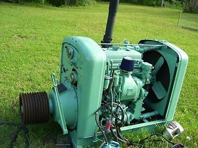 Detroit Deisel 4-71 Power Unit 471 Sawmill Engine Runs Well
