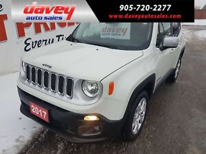 2017 Jeep Renegade Limited 4X4, BACK UP CAMERA, REMOTE STARTER