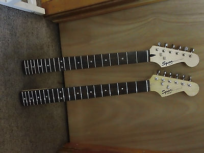 ELECTRIC GUITAR NECK LOT FENDER STRAT PROJECT UFIX!!! on Rummage