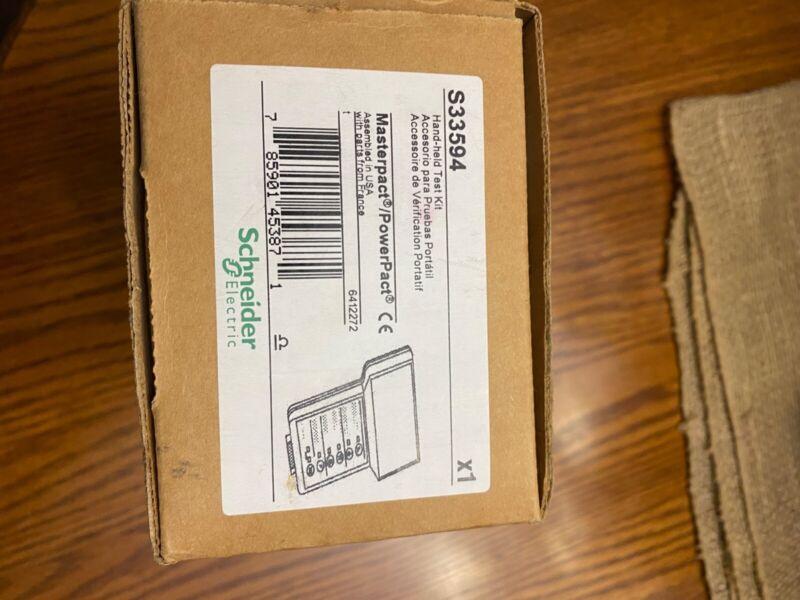 New Schneider Electric S33594 Circuit Breaker Hand-held Test Kit