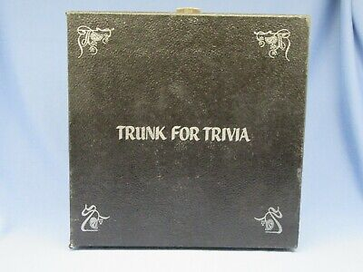 TRIVIAL PURSUIT GENIUS AND BABY BOOMER EDITIONS W/TRUNK FOR TRIVIA CASE