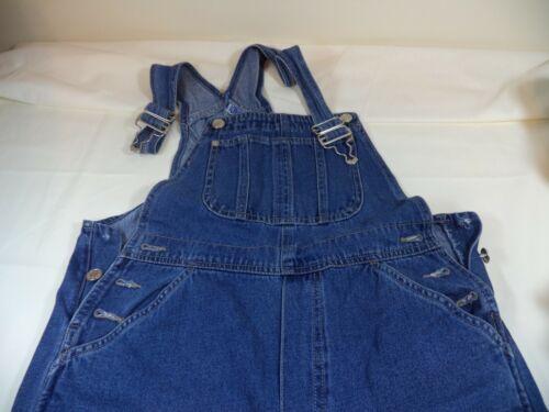 Vintage  Youth Bib Overalls, Adriana Sport, Size Small, True Blue
