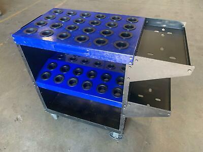 Toolscoot Rolling Cat40 Tool Cart 48 Tools 39x35x18