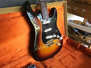 SRV Signature Series Fender Stratacaster Bell Dalby Area Preview