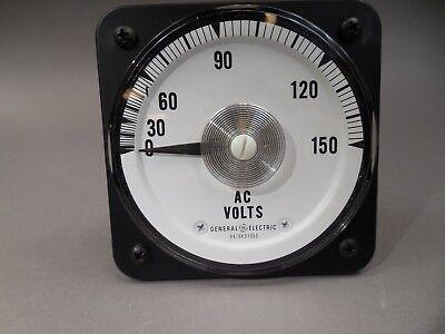 Ge Ac Voltmeter Ab30 6476k51065 - Nos