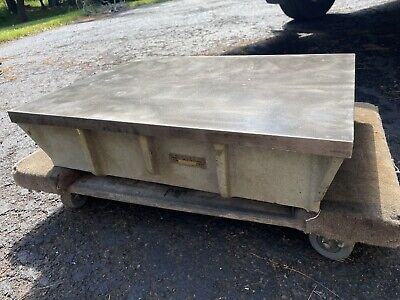 Challenge Machinery Co. Machinist Cast Iron Inspection Surface Plate 18 X 24