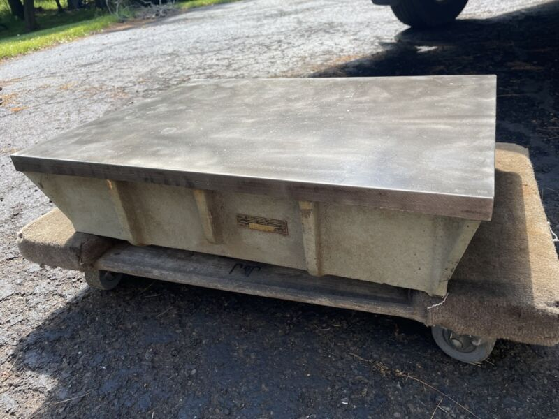 """Challenge Machinery Co. Machinist Cast Iron Inspection Surface Plate 18"""" x 24"""""""