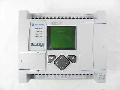 Allen Bradley Micrologix 1100 1763-l16bbb Ser B Frn 9.0 Great Shape