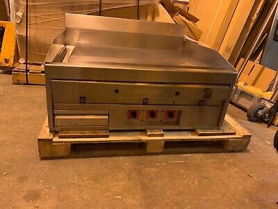 Magikitchn Mkg36 36 Thermostatic Control Griddle Flat Top Heavy Duty Grill Used