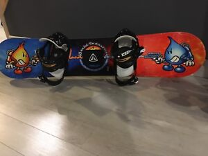 Youth snowboarding gear