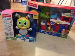 Jouets fisher price en francais neuf