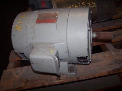 Ge 15 Hp Ac Electric Motor 215t Frame 208 Vac 3510 Rpm 5k215ak11