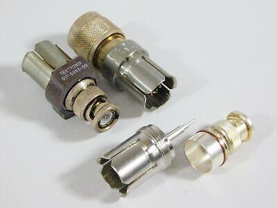 General Radio 874 Gr874 Connector Adapter Lot Bnc Tektronix 017-0083-00