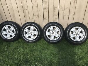 Winter tires and Honda steel rims