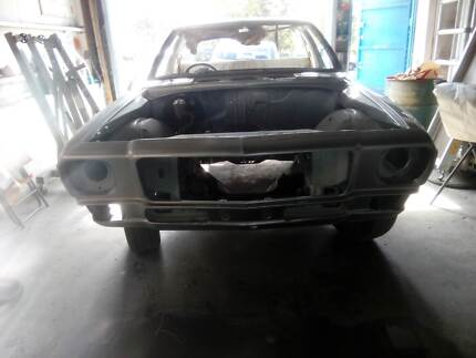 . Holden HQ one tonner rolling shell.No rust. Fresh paint